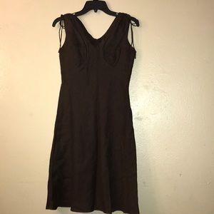 Gap,brown sleeveless dress. Size 2.